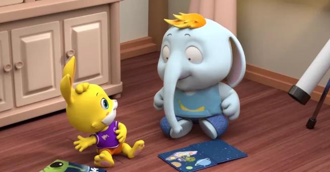 《兔子贝贝》| 一部极具成长意义的幼儿早教动画!